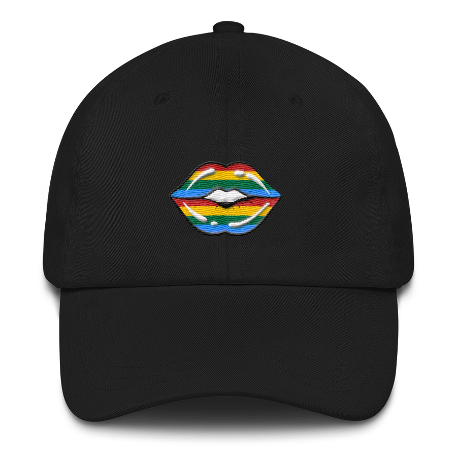 RAINBOW LIPS CAP