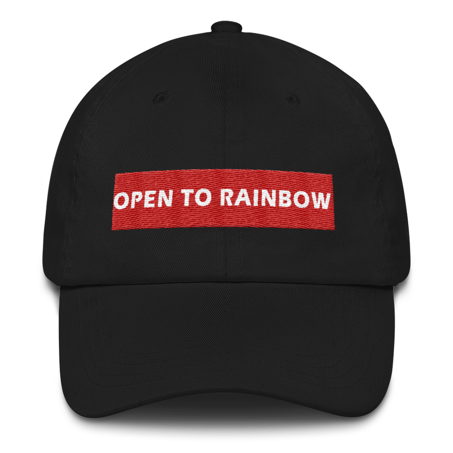 OPEN TO RAINBOW CAP