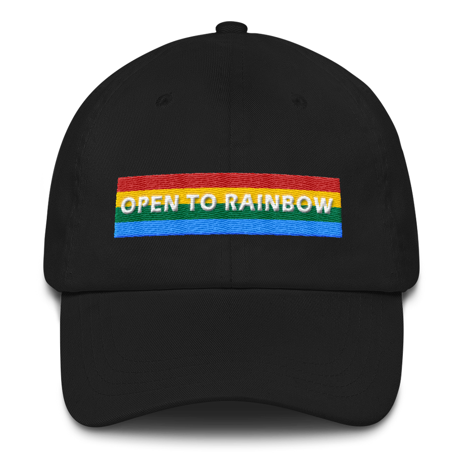 3D PUFF OPEN TO RAINBOW CAP