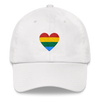 RAINBOW HEART CAP