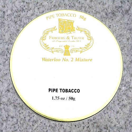 Fribourg & Treyer: WATERLOO NO. 2 50g - 4Noggins.com