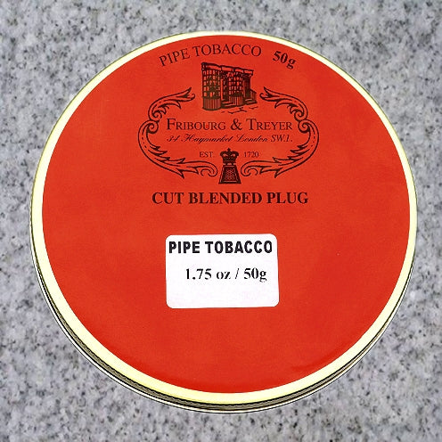 Fribourg & Treyer: CUT BLENDED PLUG 50g - 4Noggins.com