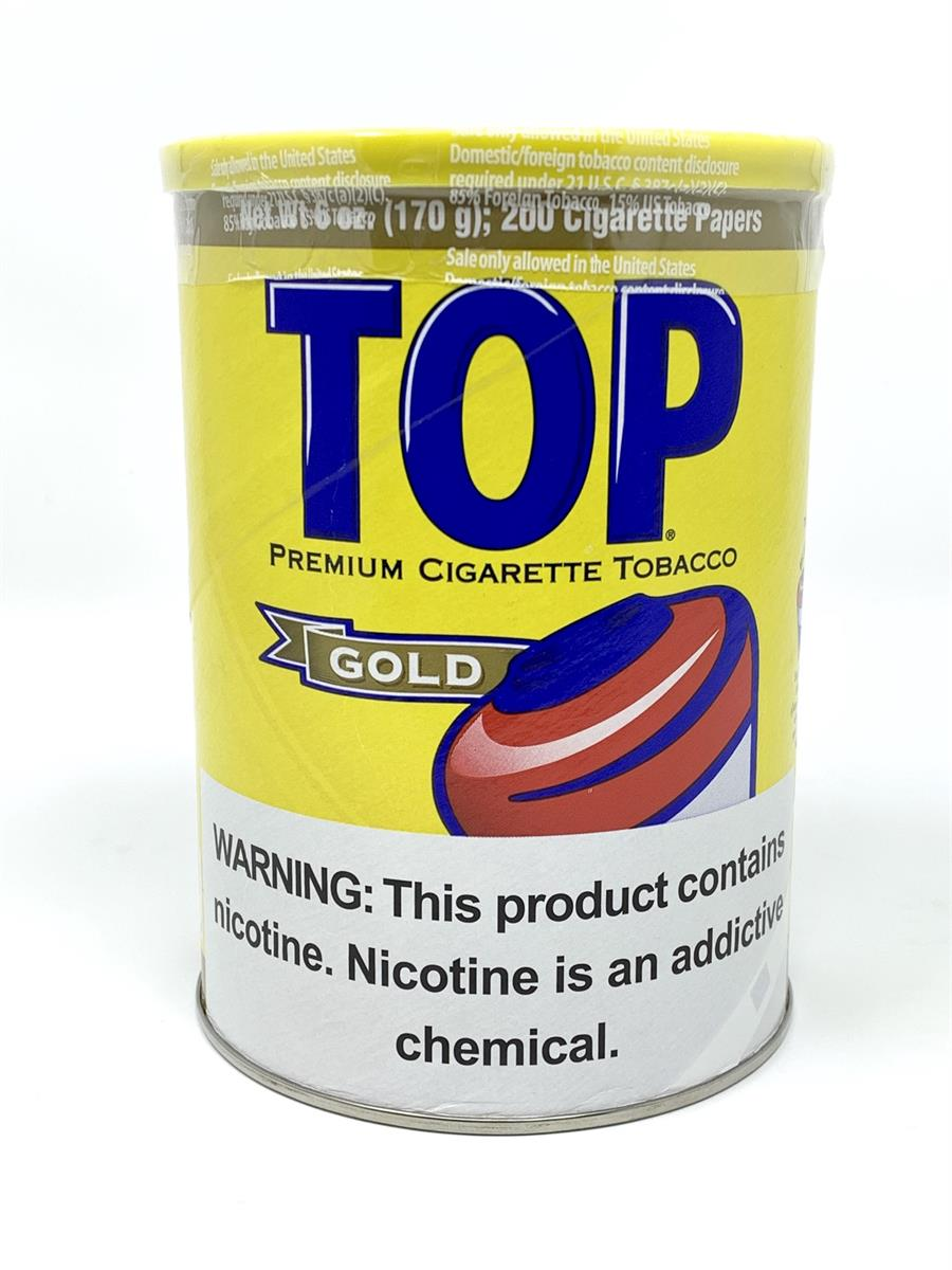 Top: GOLD CAN 6oz. - 4Noggins.com