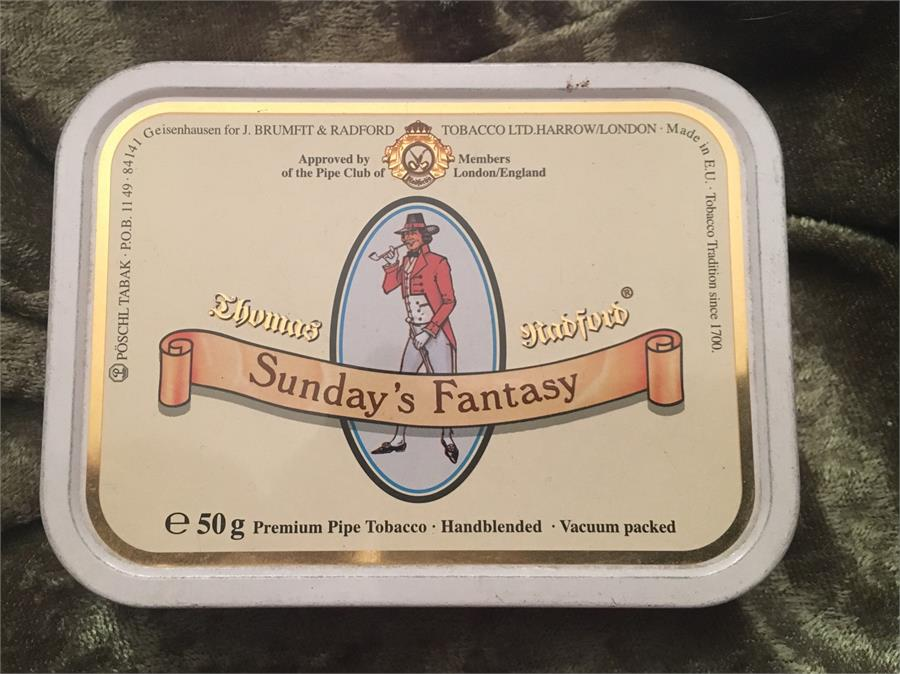 Thomas Radford: SUNDAYS FANTASY 50g 2003 - C - 4Noggins.com
