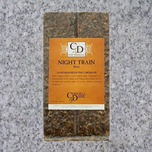 Cornell & Diehl: NIGHT TRAIN 16oz - 4Noggins.com