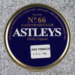 Astleys: No. 66 CAVENDISH CLUB 50g - 4Noggins.com