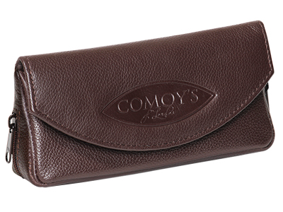 Comoy: Pouches & Cases: COMBO BROWN TOBACCO POUCH - 4Noggins.com