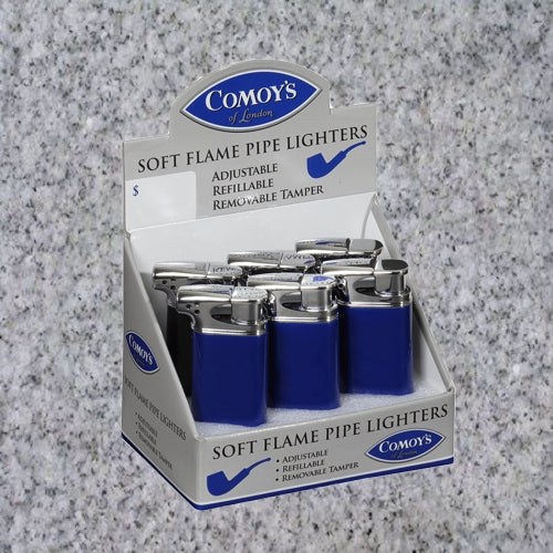 Comoy's : SOFT FLAME PIPE LIGHTER - 4Noggins.com