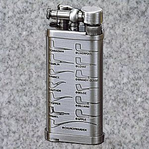 IM Corona: Pipe Lighters: IM CORONA OLD BOY PEWTER PIPE SHAPES - 4Noggins.com