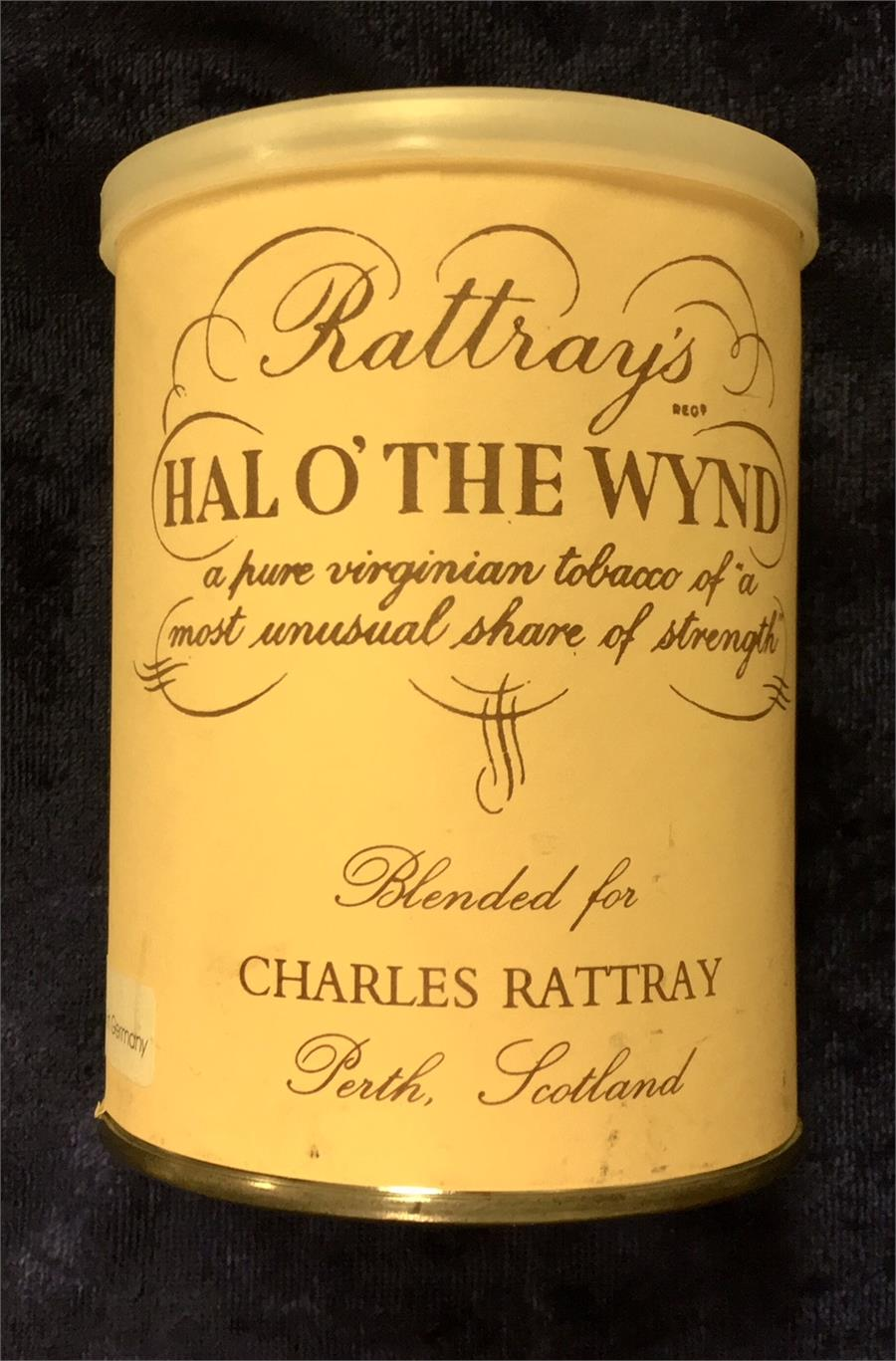 Rattray's: HAL O' THE WYND 100g 1995 - C - 4Noggins.com