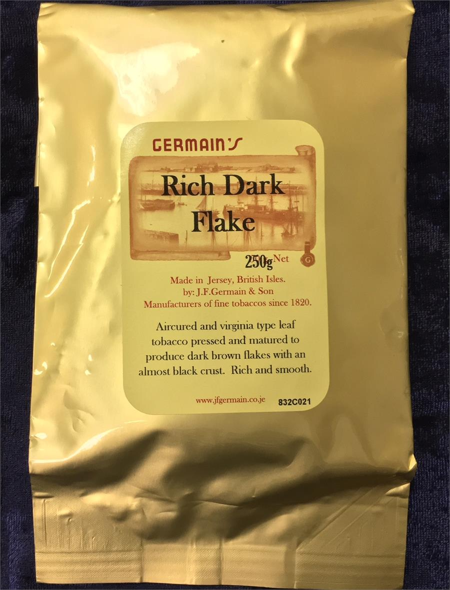 J.F. Germain: RICH DARK FLAKE 250g - C - 4Noggins.com