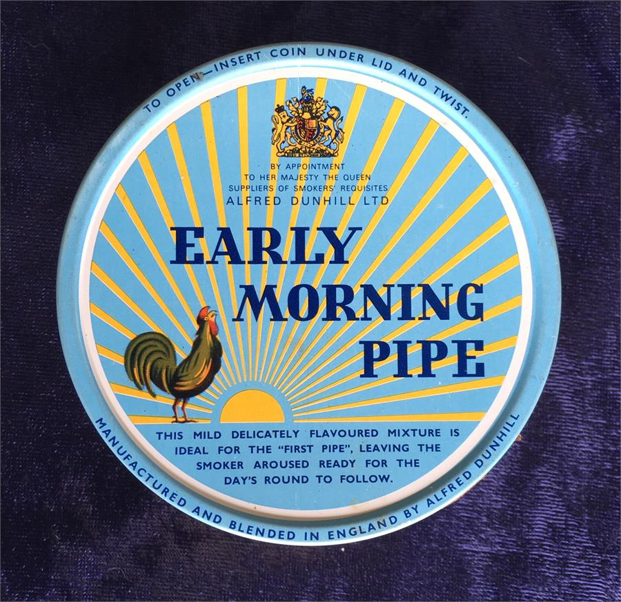 Dunhill:  EARLY MORNING PIPE 1972  100g - C - 4Noggins.com