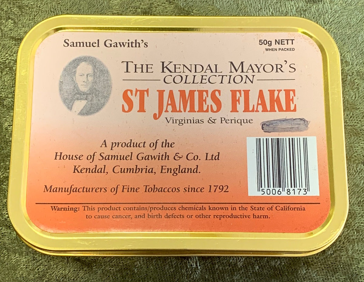 Samuel Gawith: ST. JAMES FLAKE 50g 2007 -C - 4Noggins.com