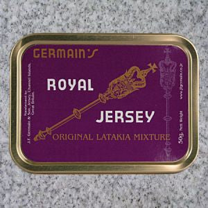 J.F. Germain: ROYAL JERSEY w-LATAKIA 50g - 4Noggins.com