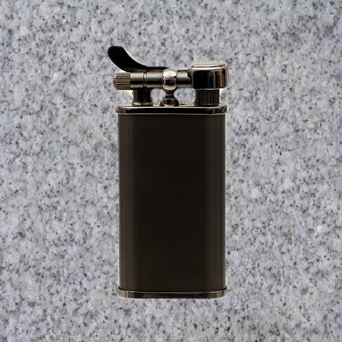 Kiribi Lighter: KABUTO BLACK NICKEL - 4Noggins.com