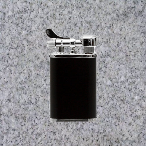 Kiribi Lighter: KABUTO SHORT BLACK MATTE - 4Noggins.com