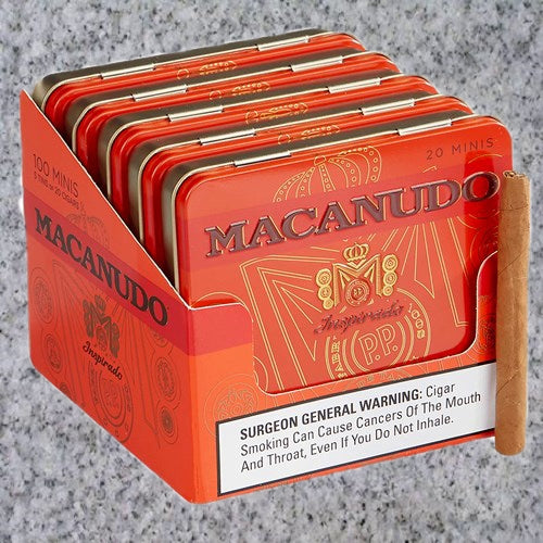 Macanudo: Inspirado Orange Mini (Cigarillo) Tin of 20 - 4Noggins.com