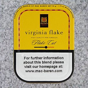Mac Baren: VIRGINIA FLAKE 50g - 4Noggins.com