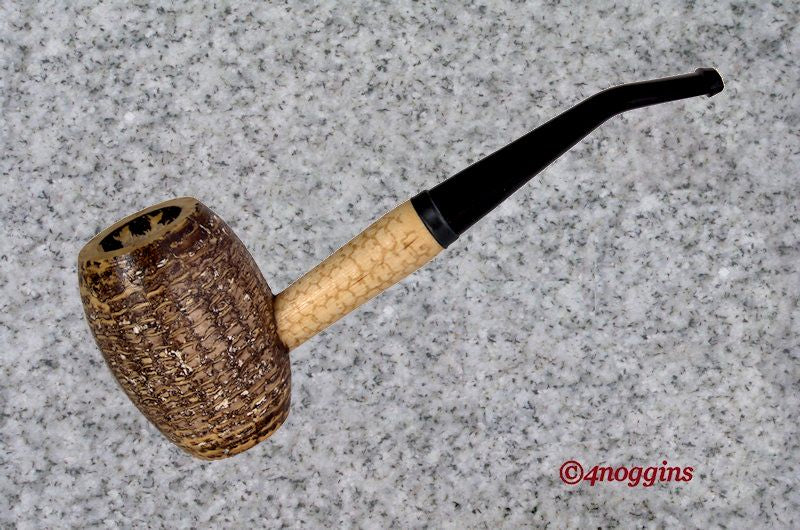 Missouri Meerschaum: COUNTRY GENTLEMAN - BENT STEM - 4Noggins.com