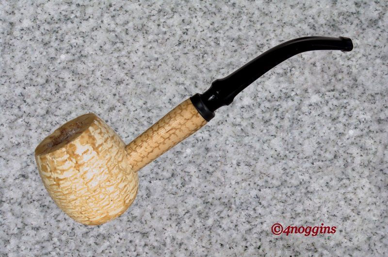 Missouri Meerschaum: DIPLOMAT - APPLE - BENT STEM - 4Noggins.com