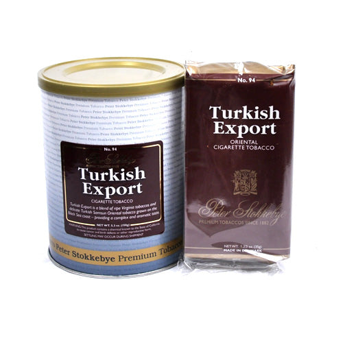 Peter Stokkebye: TURKISH EXPORT 150g - 4Noggins.com
