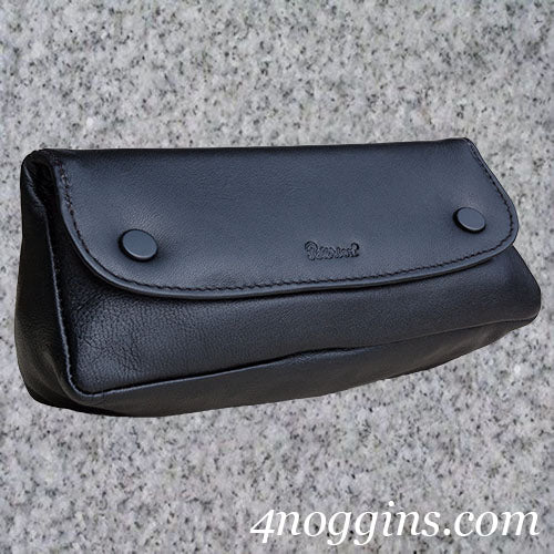 Peterson: CLASSIC 1 PIPE LEATHER COMBO POUCH - 4Noggins.com