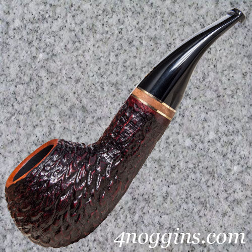 Savinelli: Porto Cervo Rusticated (320 KS) - 4Noggins.com