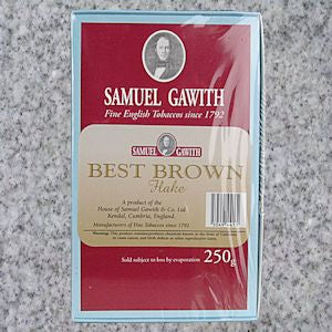 Samuel Gawith: BEST BROWN FLAKE 250g - 4Noggins.com