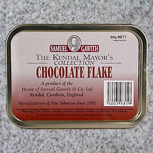 Samuel Gawith: CHOCOLATE FLAKE 50g - 4Noggins.com