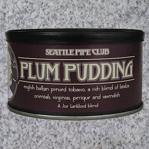 Seattle Pipe Club: PLUM PUDDING 2oz - 4Noggins.com