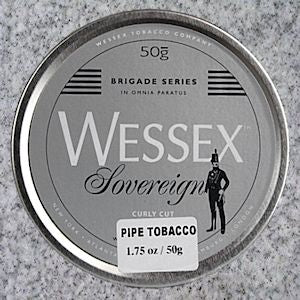 Wessex: BRIGADE SOVEREIGN CURLY CUT 50g - 4Noggins.com