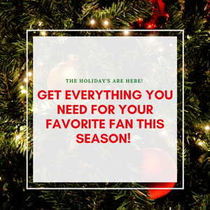 Gifts For Your Favorite Fan This Season!