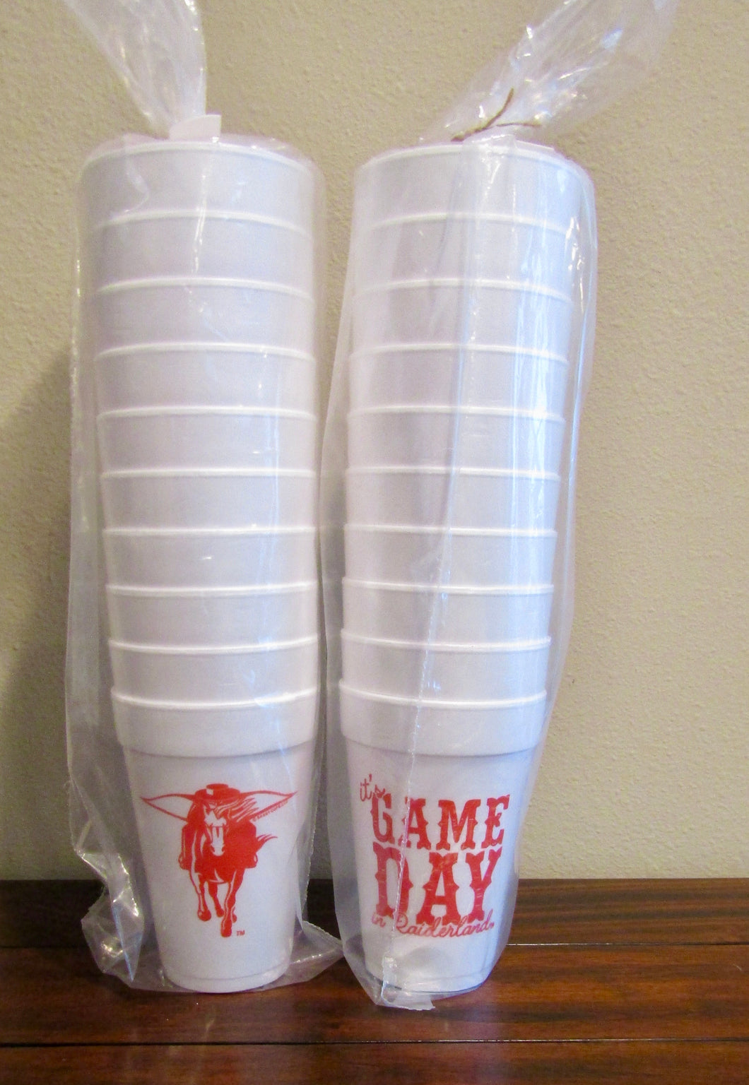 Texas Tech Tailgate Cups