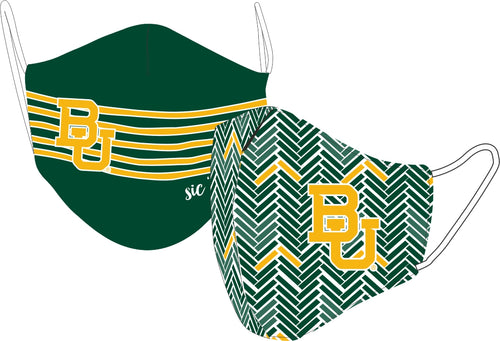 Reversible Baylor Face Mask