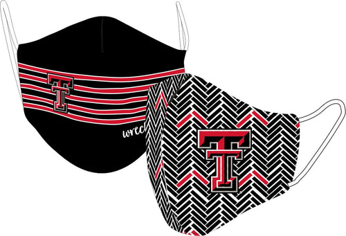 Reversible Texas Tech Face Mask