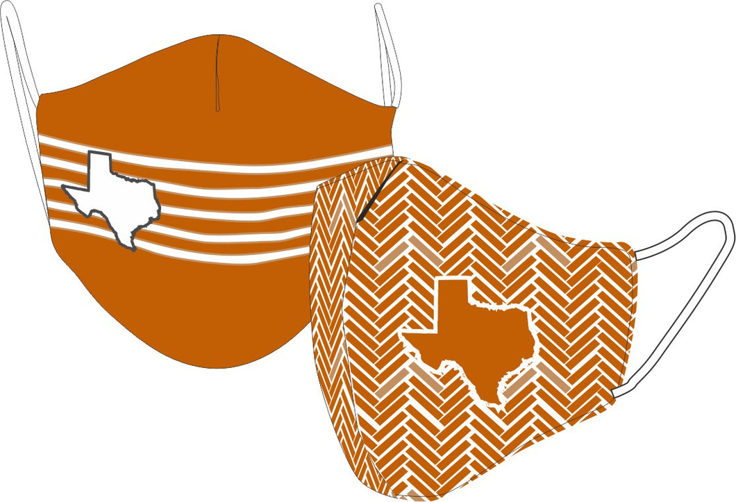 Reversible State of Texas  Face Mask