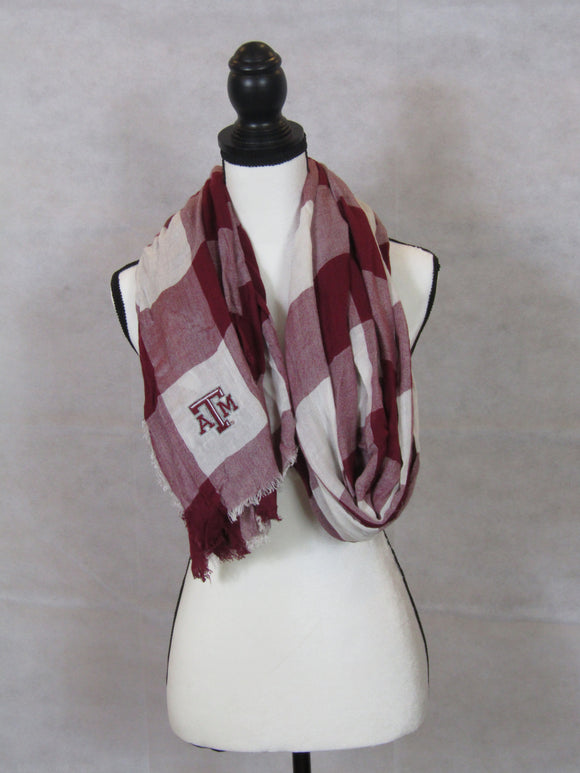 Texas A&M Buffalo Print Scarf