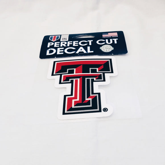 TTU Double T Decal