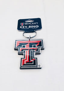 TTU DOUBLE T KEY CHAIN