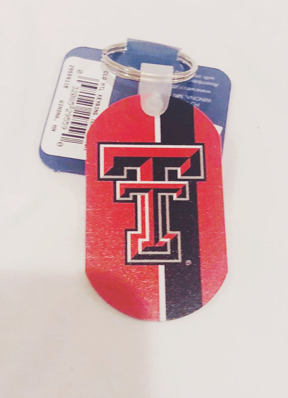 TTU Metal Key Chain