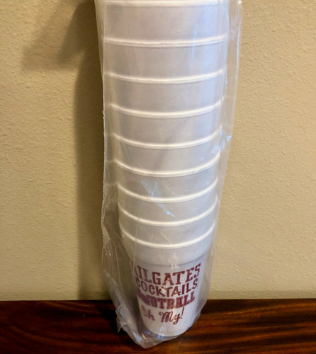 Texas A&M Tailgate Cups