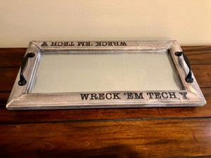 Texas Tech Wreck'Em Tech Tray