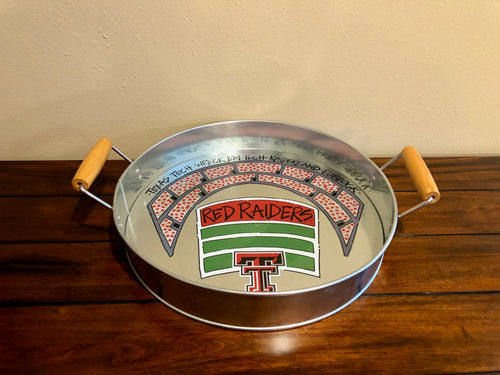 Texas Tech  Metal Tray