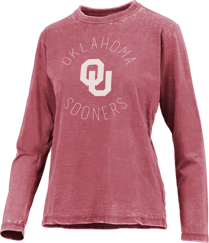OU Vintage Wash Long Sleeve