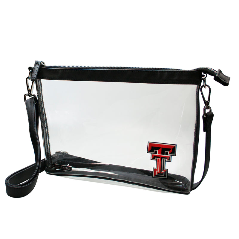 Texas Tech Large Clear Crossbody