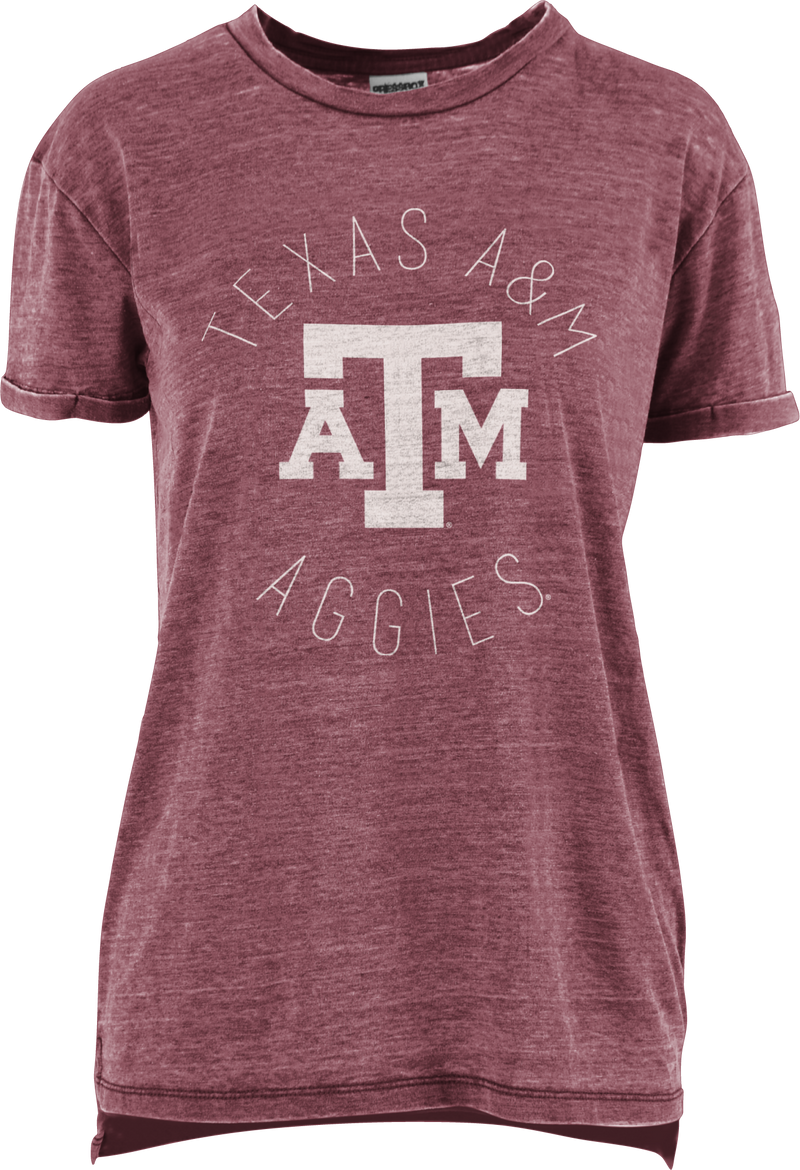 Texas A&M  Vintage Wash Short Sleeve