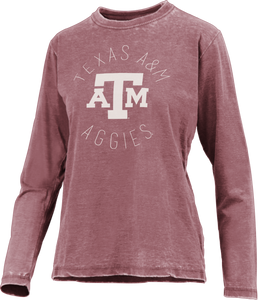 Texas A&M Vintage Wash Long Sleeve