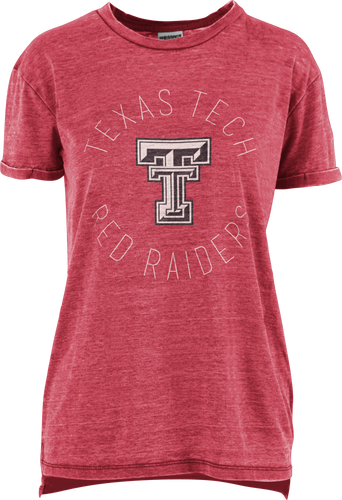 Texas Tech Double T Vintage Wash Short Sleeve