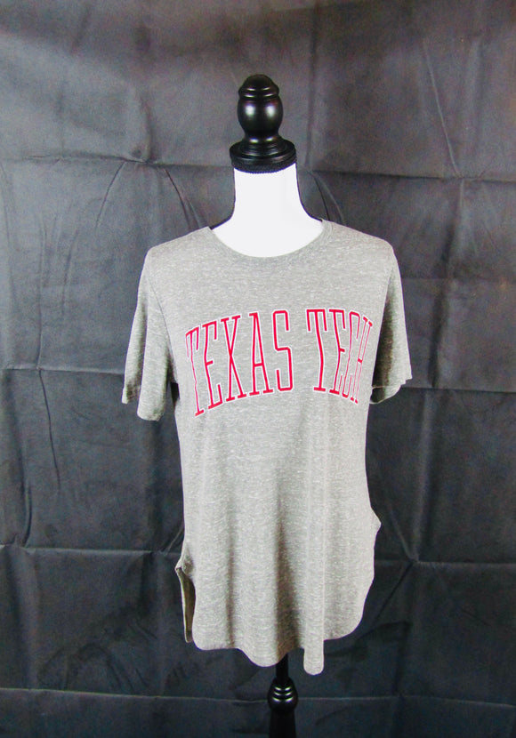 Texas Tech Rounded Bottom Short Sleeve