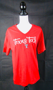 Texas Tech Red V Neck